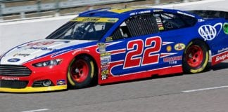 Logano Texas 2nd