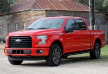 2016 Ford F-150 Lease Deal