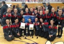 Holly Varsity Jazz and Hip Hop Dance Force Xpress Competition