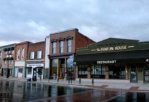 Downtown Fenton Michigan