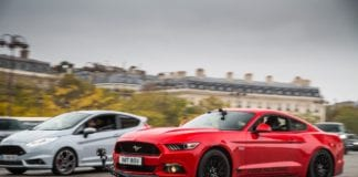 The Ford Mustang Take on C'ÉTAIT UN RENDEZ-VOUS