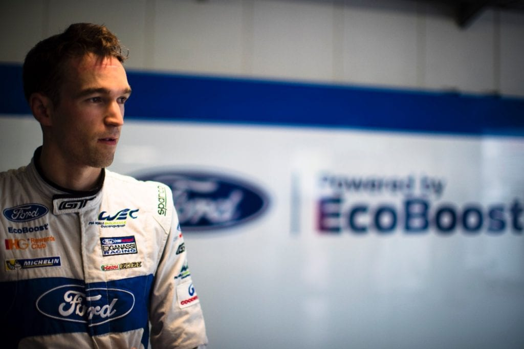 Harry Tincknell 2017 Ford GT Le Mans Driver