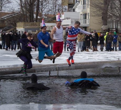 2017 Michigan Law Enforcement Fenton Polar Plunge