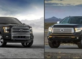 Ford F150 vs Toyota Tundra
