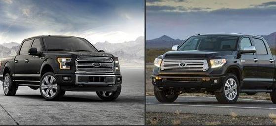 Ford F150 vs Toyota Tundra