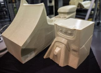 Ford 3D Printed Car Parts