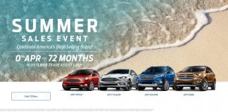 Ford Summer Sales Event 2017