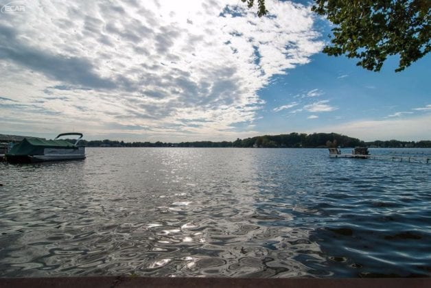 Lot For Sale on Lake Fenton