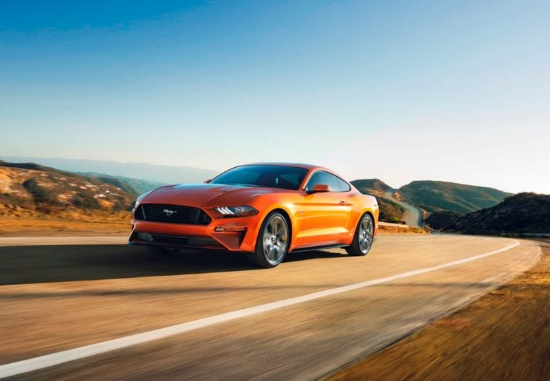 Ford Mustang GT hits 60 miles per hour in under 4 seconds