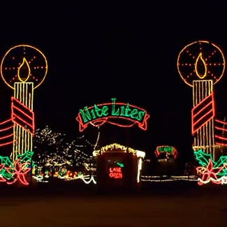 nite lites christmas at michigan international speedway the lasco press - Christmas Lites