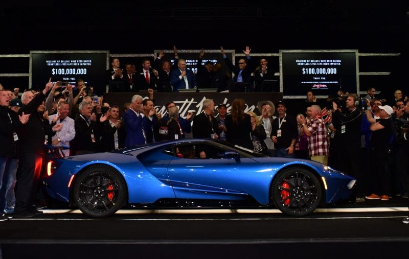 Ford GT Barrett-Jackson Auction
