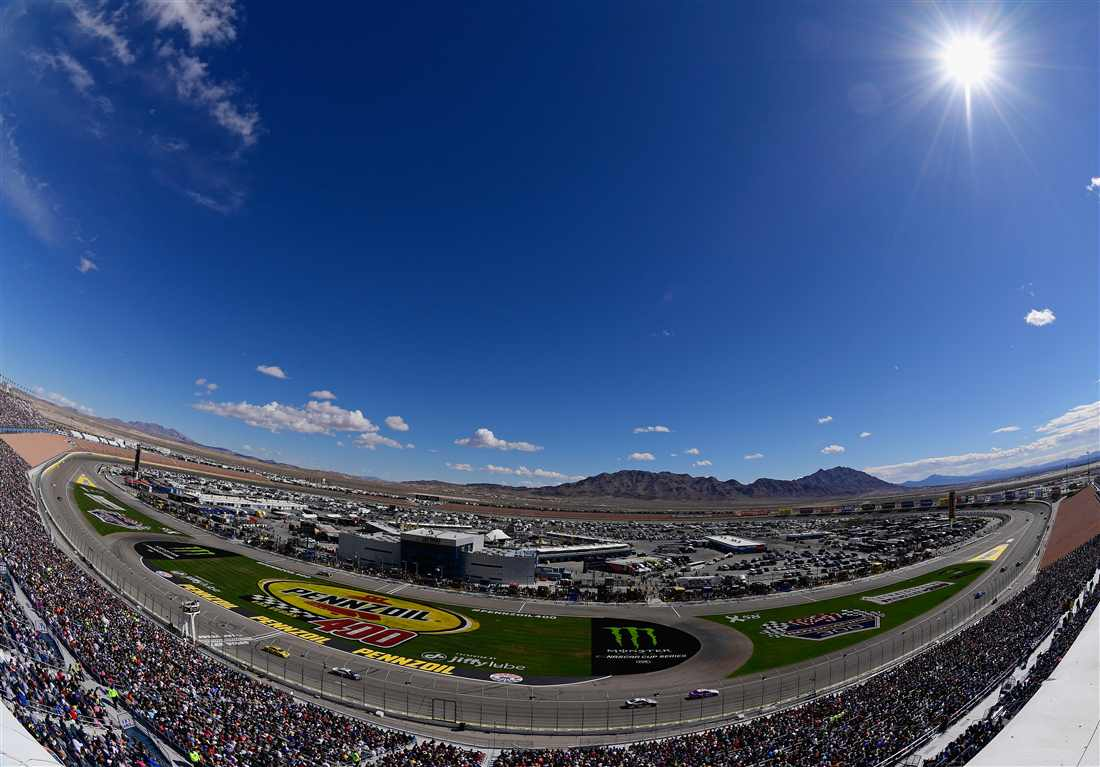 Harvick wins again in the pennzoil 400 from las vegas for Las vegas motor speedway events