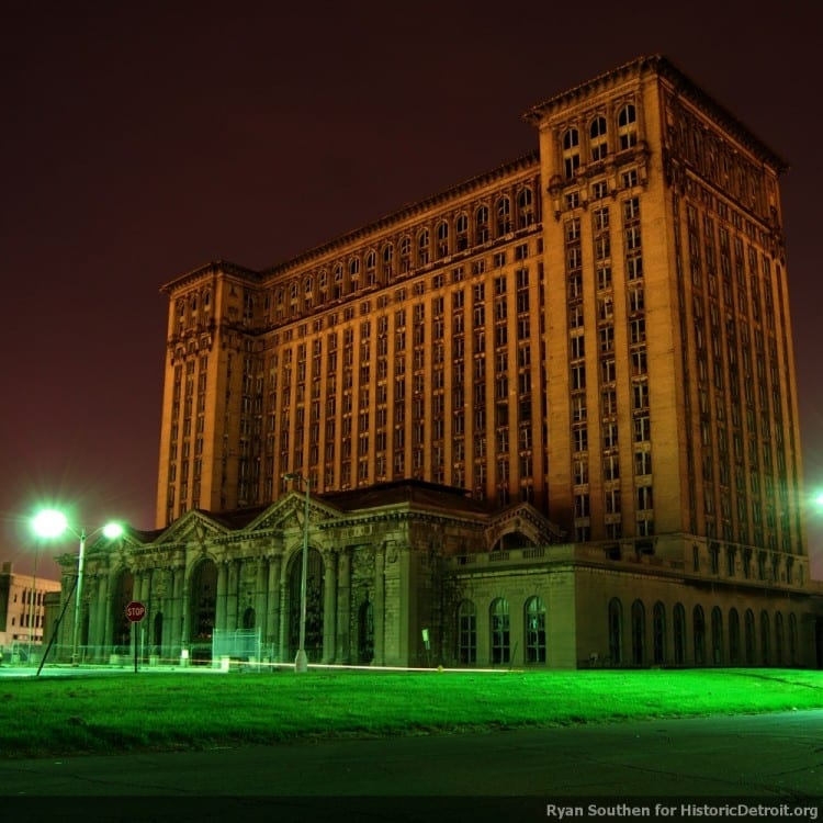 Ford Reportedly To Purchase The Abandoned Michigan Central