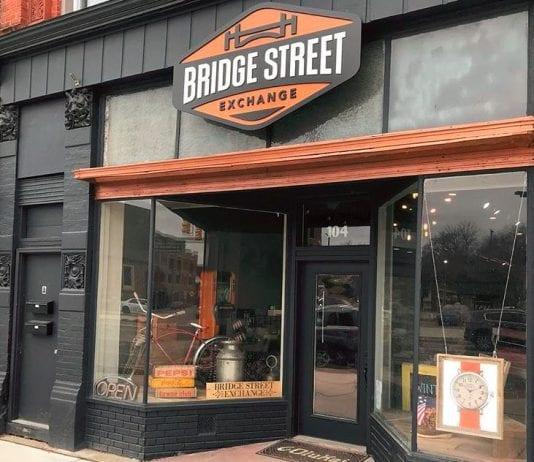 Bridge Street Exchange in Downtown Fenton