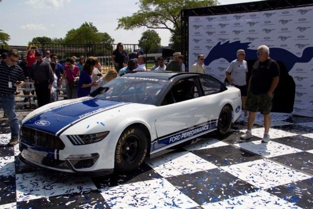 Ford Unveils 2019 NASCAR Cup Series Mustang - The Lasco Press