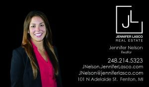 Jennifer Nelson, Real Estate Agent