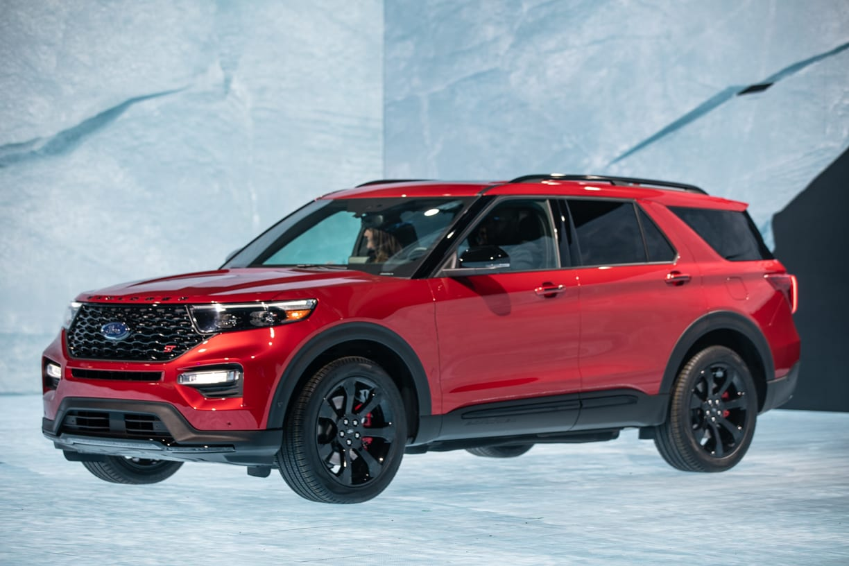Ford Explorer Ecoboost >> Ford Unveils GT500, 2020 Explorer, and Tech at Day 1 at the Auto Show - The Lasco Press