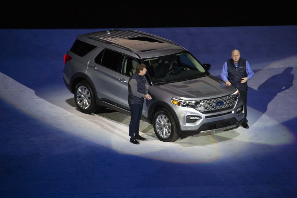 First Look The 2020 Ford Explorer The Lasco Press