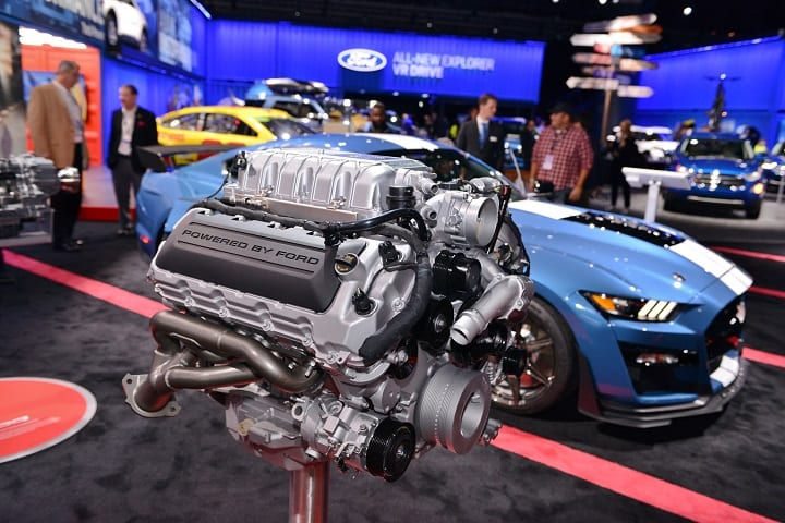 2020 Mustang Shelby GT500 engine