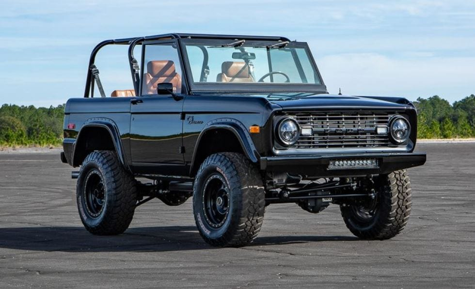 1969 Ford Bronco Supercharged Coyote 5.0 Is Brilliant
