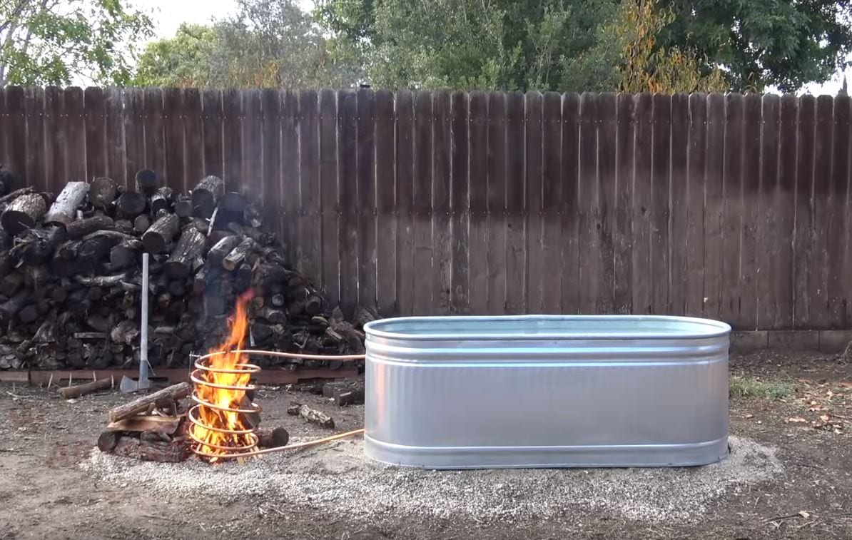 Build A Wood Fired Hot Tub For 150 The Lasco Press