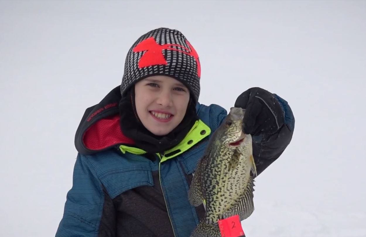 Michigan Free Fishing Weekend February 2019