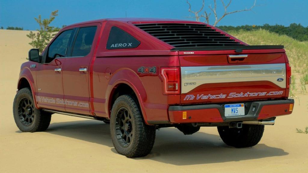 Ford F-150 Fastback Truck Cap Draws Attention - The Lasco ...