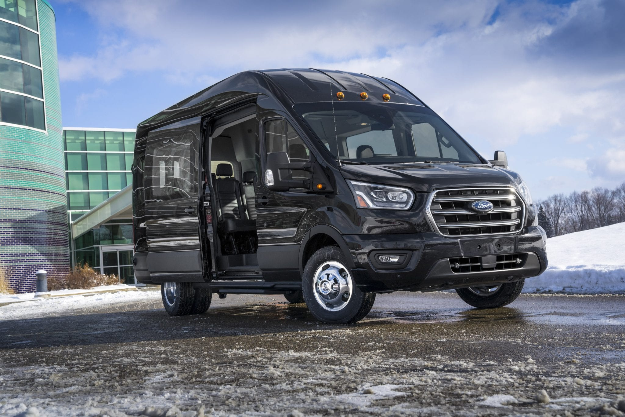 Best Vans 2020 2020 Ford Transit Van Gets Facelift, More Tech, & All Wheel Drive