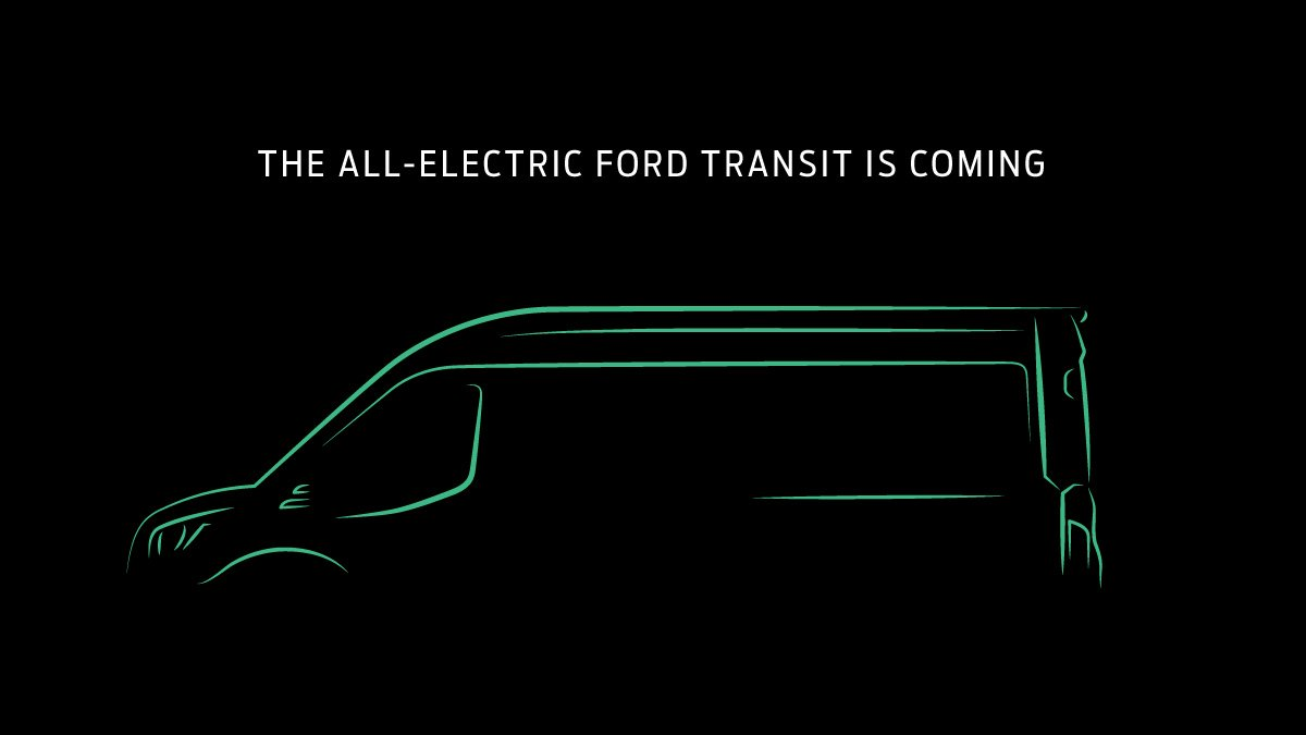 electric ford transit van