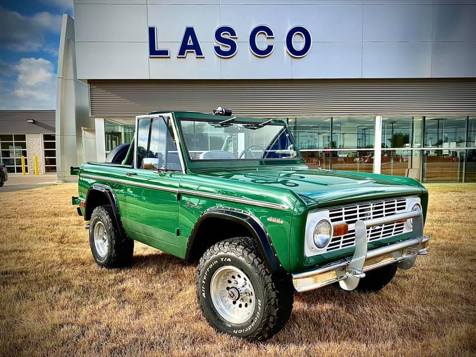 1969 Ford Bronco at Lasco Ford in Fenton Michigan