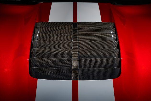 Mustang GT500 Carbon Fiber Hood Vent