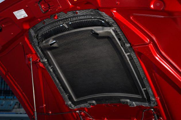 Mustang GT500 Carbon Fiber Rain Tray
