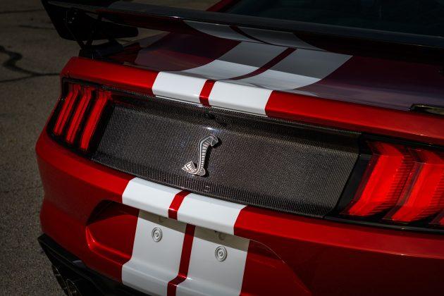 Mustang GT500 Carbon Fiber Rear Decklid Trim Panel