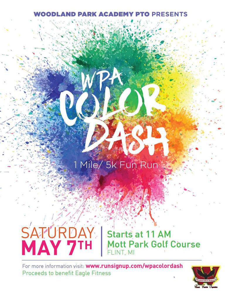 Woodland Park Academy Color Dash