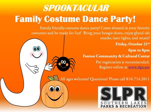 SLRP Spooktacular Dance Party
