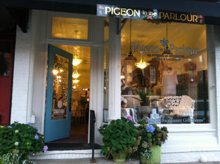 Pigeon In The Parlour Holly Michigan