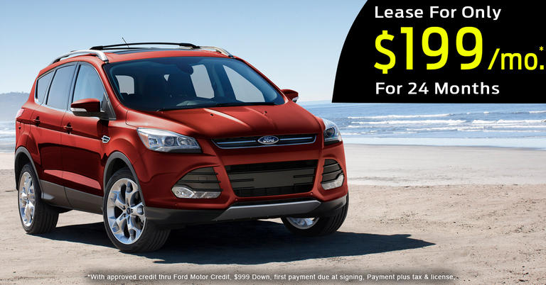 2016 Ford Escape SE Lease Payment
