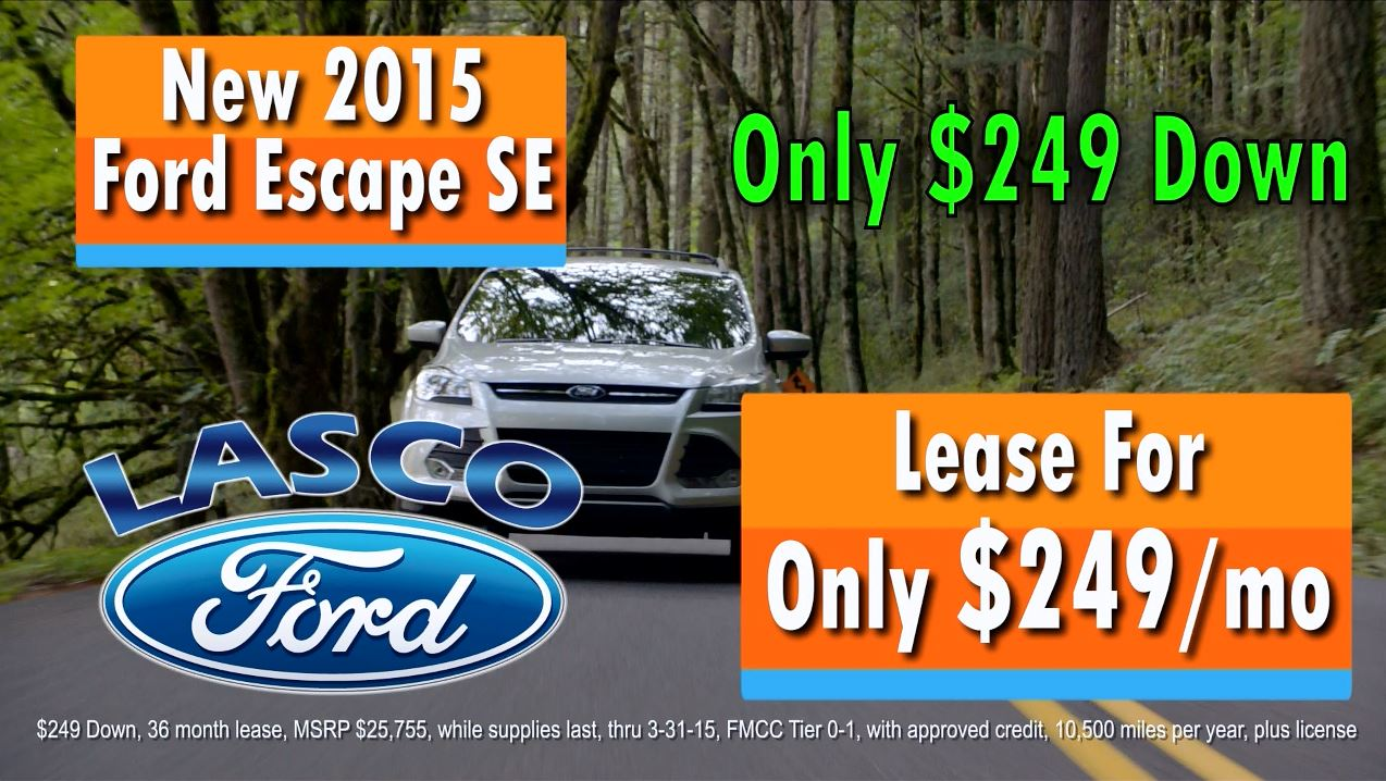 2015 Ford Escape Lease