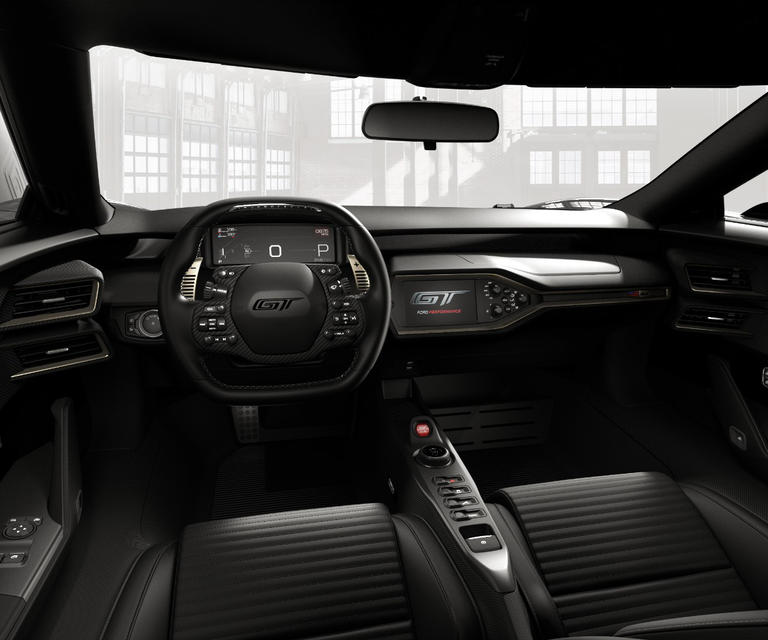 2017 Ford GT Interior Heritage Edition