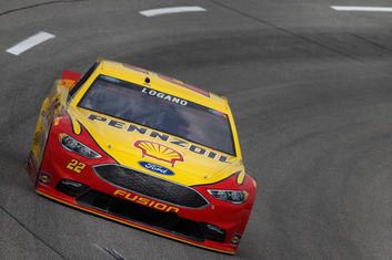 Joey Logano Ford Nascar at Richmond