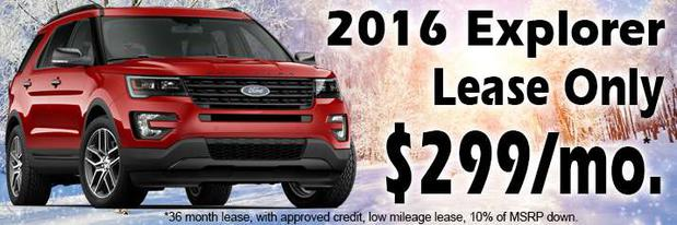 Ford Explorer Lease Deal